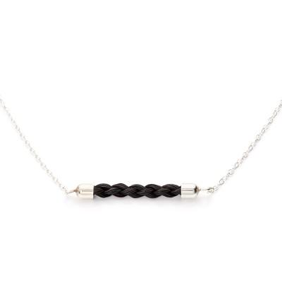 Smykker af hestehår - halskæde
